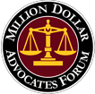 Million Dollar Advocate logo