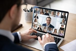 NASP Annual Meeting held virtually on laptop