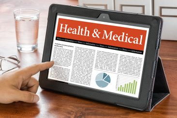 Korean Healthcare Law News on a tablet
