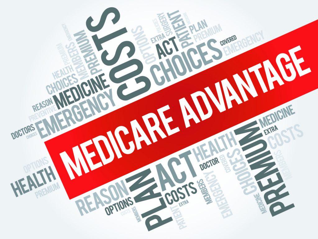 Medicare advantage word cloud